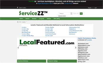 Servicezz - services marketplace, directory, and all things service related